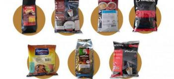 Insumos para máquina de café vending